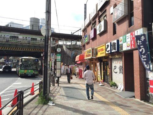 高田馬場駅向かいのビル