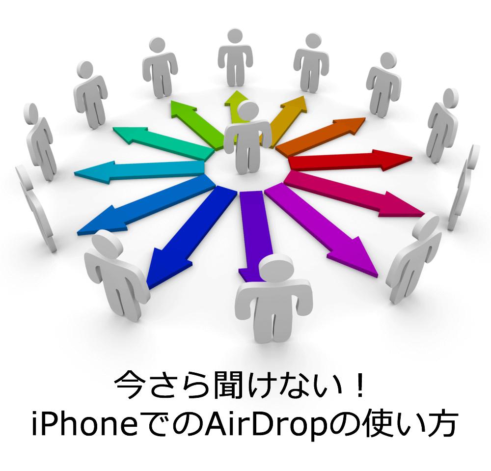 AirDropの使い方