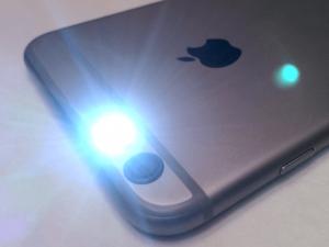 iPhone LED通知設定