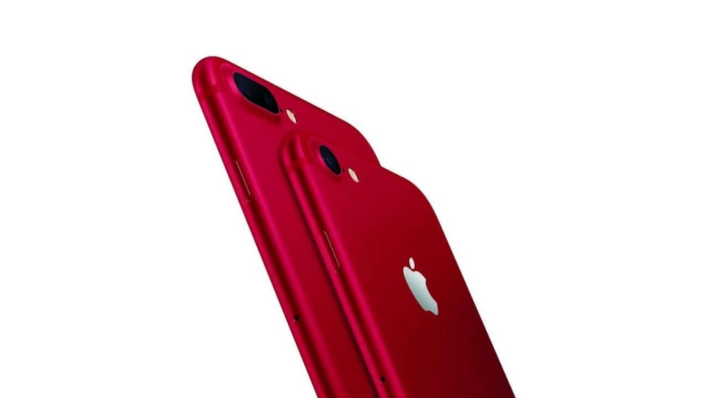 iPhone7 レッド